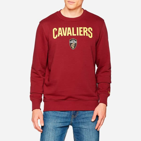 NEW ERA NBA TIP OFF CREW SWEAT CLEVELAND CAVALIERS