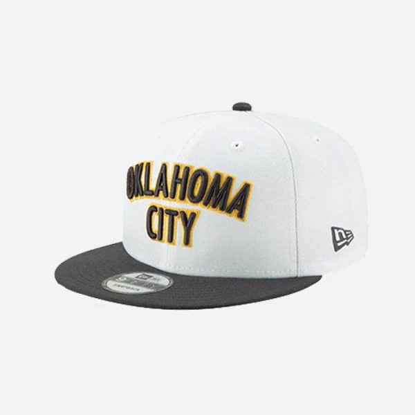 NEW ERA CAP NBACITY SERIES 2019 HOLIDAY OKLAHOMA THUNDER 9FIFTY SNAPBACK