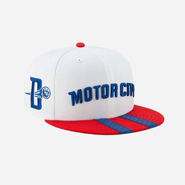 NEW ERA CAP NBA CITY SERIES 2019 HOLIDAY DETROIT PISTONS 59FIFTY FITTED