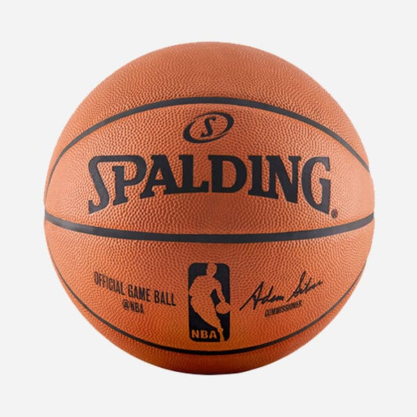 SPALDING OFFICIAL NBA GAME BALL SIZE 7