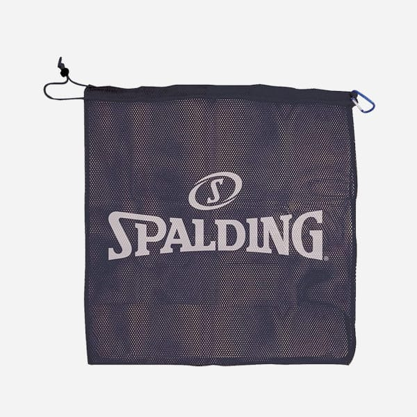 SPALDING MESH BAG FITS OFFICIAL SIZE BASKETBALL