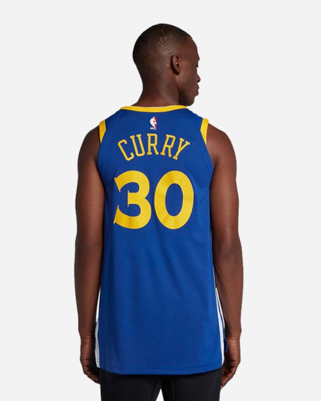 Nike Nba Golden State Warriors Authentic Jersey Icon Edition Stephen Curry