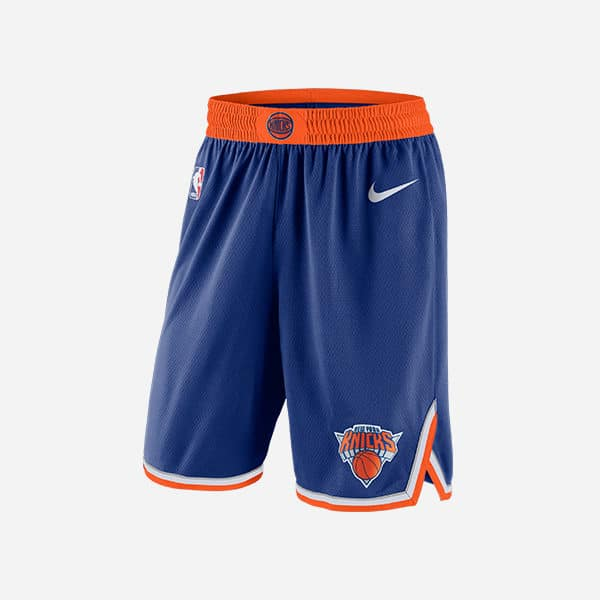 NIKE NBA NEW YORK KNICKS SWINGMAN SHORT ICON EDITION