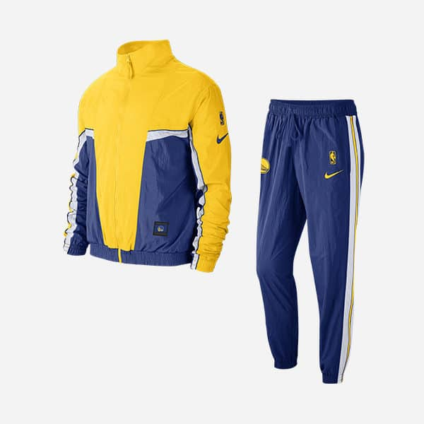 NIKE NBA GOLDEN STATE WARRIORS TRACKSUIT COURTSIDE
