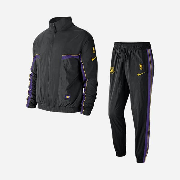 NIKE NBA LOS ANGELES LAKERS TRACKSUIT COURTSIDE