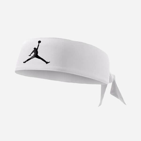 JORDAN HEADBAND DRI-FIT BLANCO