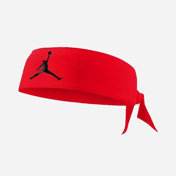 JORDAN HEADBAND DRI-FIT ROJO