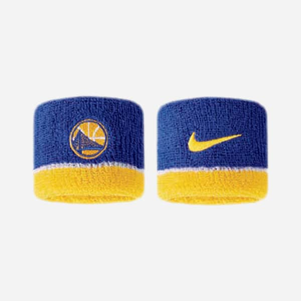 NIKE NBA WRISTBANDS GOLDEN STATE WARRIORS