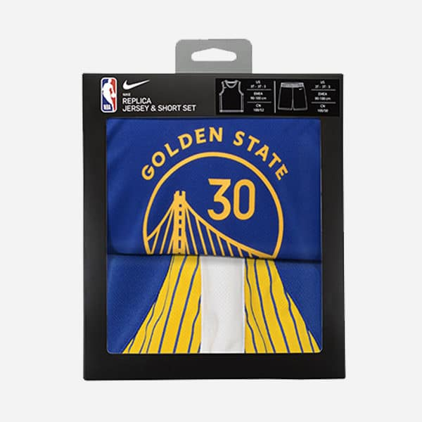 NIKE NBA ICON REPLICA BOX SET GOLDEN STATE WARRIORS STEPHEN CURRY