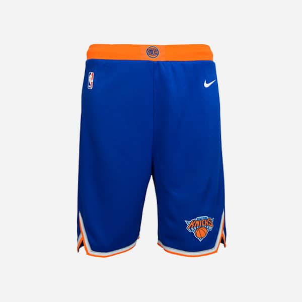 NIKE NBA SWINGMAN ICON EDITION SHORT NEW YORK KNICKS