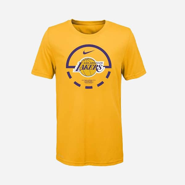 NIKE NBA BB ELEMENT SS TEE LOS ANGELES LAKERS