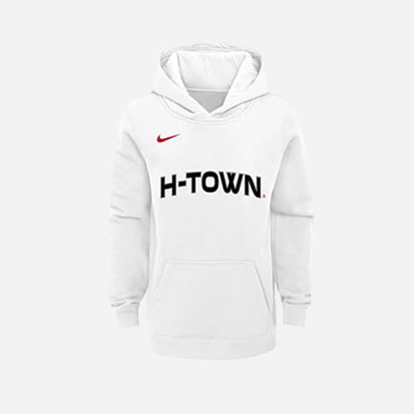 NIKE NBA HOODIE PO CLUB FLEECE CITY EDITION HOUSTON ROCKETS