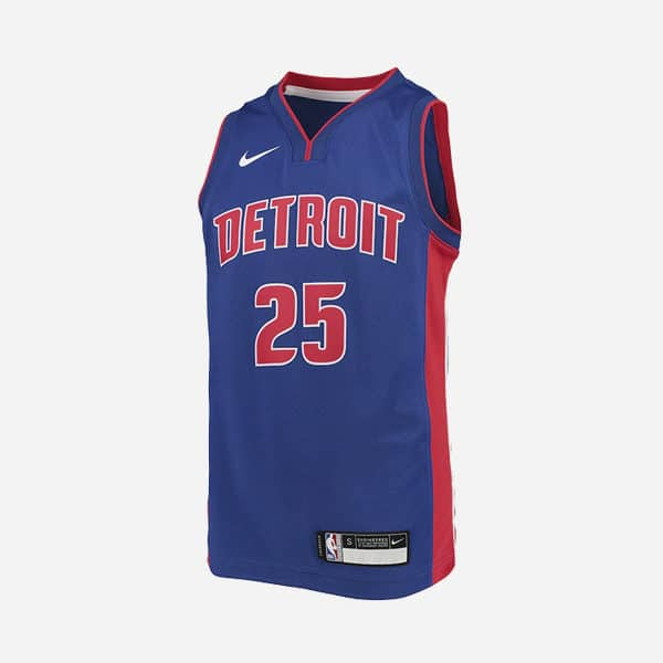 NIKE NBA SWINGMAN ICON EDITION JERSEY DETROIT PISTONS DERRICK ROSE