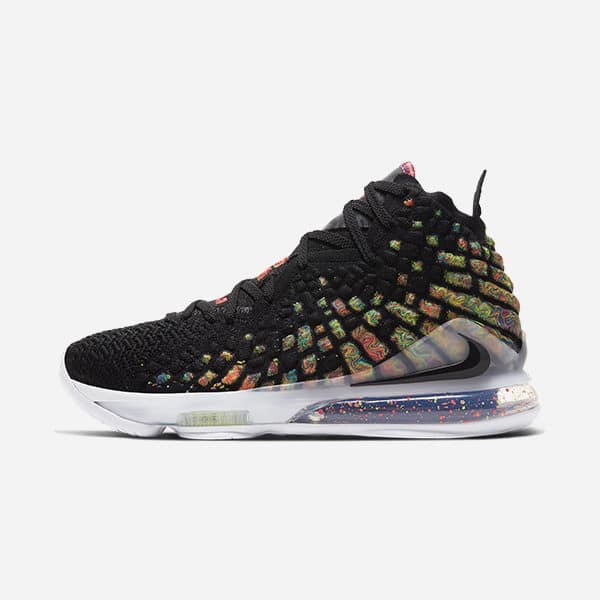 NIKE LEBRON XVII BLACK JAMES GANG