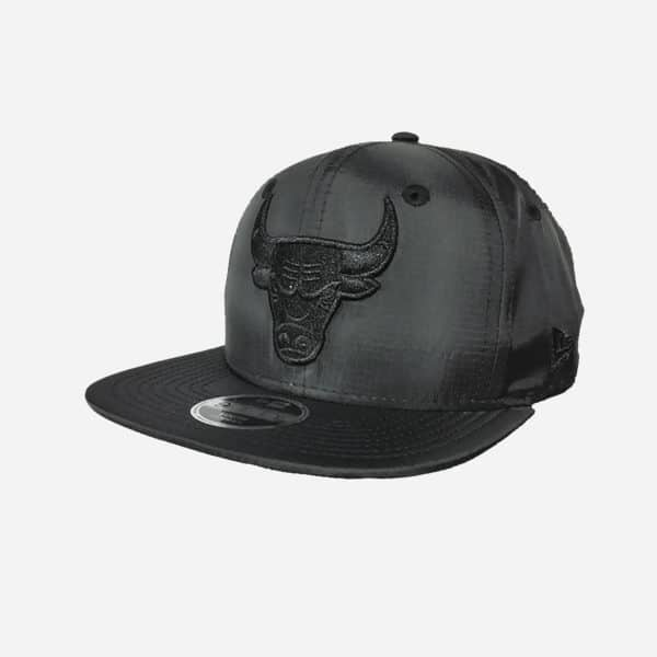 NEW ERA NBA 950 OF KIDS CHICAGO BULLS BLACK FABRIC