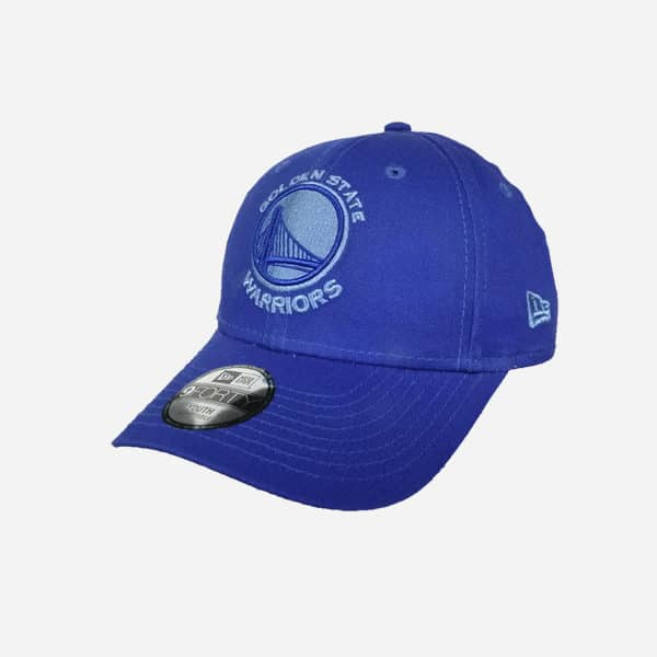 NEW ERA NBA 940 MONOTONE GOLDEN STATE WARRIORS MAJESTIC BLUE