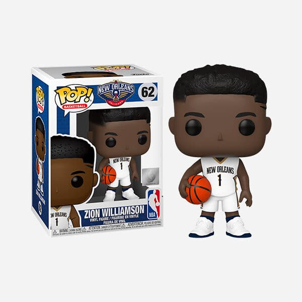 FUNKO POP NBA NEW ORLEANS PELICANS ZION WILLIAMSON