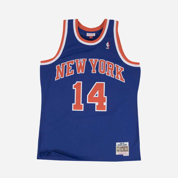 MITCHELL&NESS NBA SWINGMAN JERSEY ROAD KNICKS 91 ANTHONY MASON ROY MAN