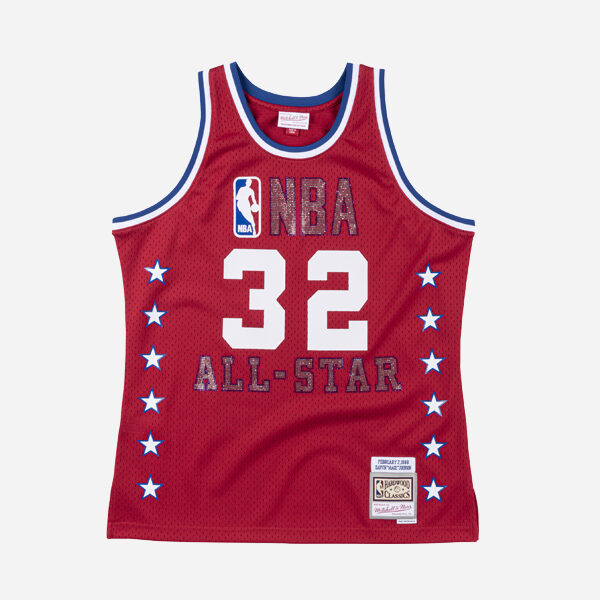 MITCHELL&NESS NBA SWINGMAN JERSEY ALL STAR GAME 88 MAGIC JOHNSON MEN
