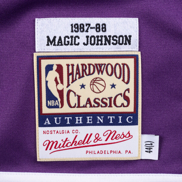 MITCHELL&NESS NBA AUTHENTIC SHOOTING SHIRT LAKERS 1987 MAGIC JOHNSON