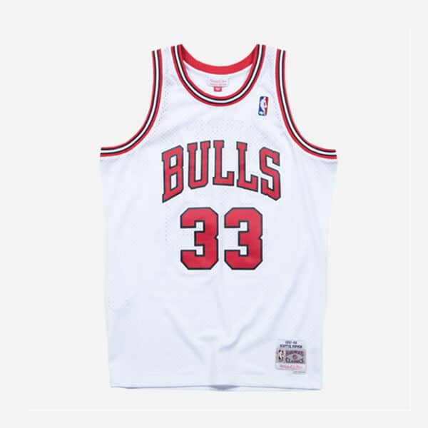 MITCHELL&NESS NBA SWINGMAN JERSEY BULLS 97 SCOTTIE PIPPEN OTC MAN