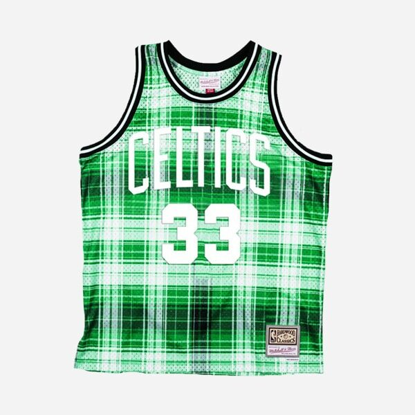 MITCHELL&NESS NBA SWINGMAN JERSEY CELTICS 86 LARRY BIRD PRIVATE SCHOOL MAN