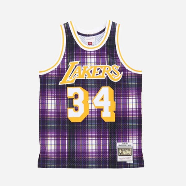 MITCHELL&NESS NBA SWINGMAN JERSEY LAKERS 96 SHAQUILLE ONEAL MAN