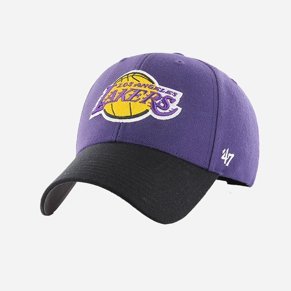 47 BRAND NBA LOS ANGELES LAKERS OSF TWO TONE MVP STRAPBACK