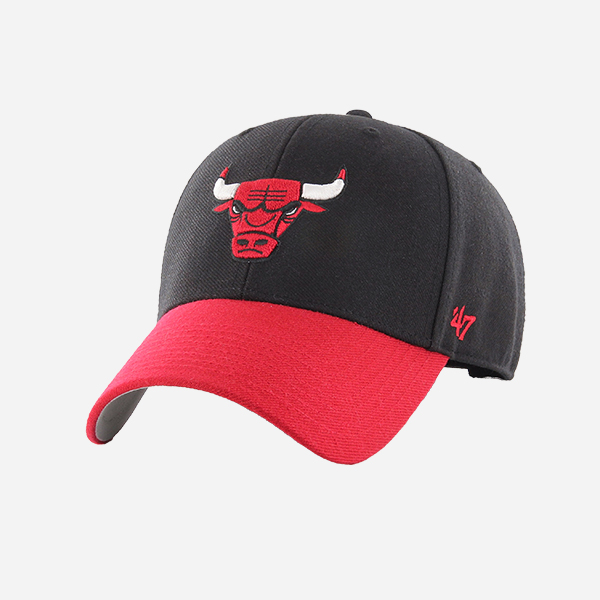 47 BRAND NBA CHICAGO BULLS OSFA TWO TONE MVP STRAPBACK