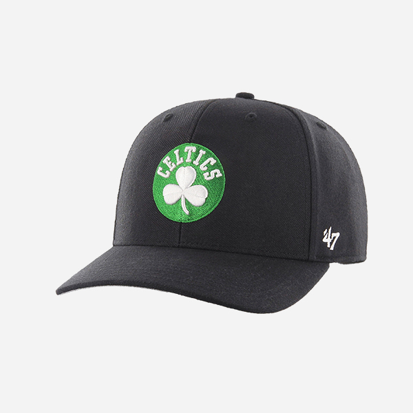 47 BRAND NBA BOSTON CELTICS OSFA NO SHOT MVP DP STRAPBACK