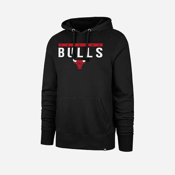 47 BRAND CHICAGO BULLS POWER LUCK HEADLINE HOOD MEN
