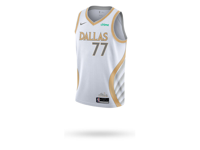 NIKE NBA SWINGMAN JERSEY CITY EDITION DALLAS MAVERICKS LUKA DONCIC 2020