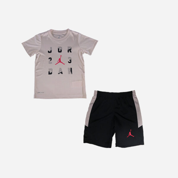 JORDAN BRAND KIDS TEE AND SHORT SET