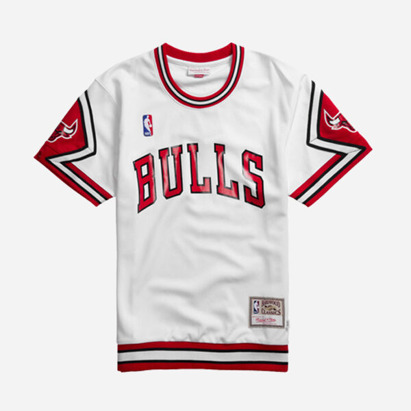 MITCHELL AND NESS NBA AUTHENTIC SHORTSLEEVE CHICAGO BULLS 89