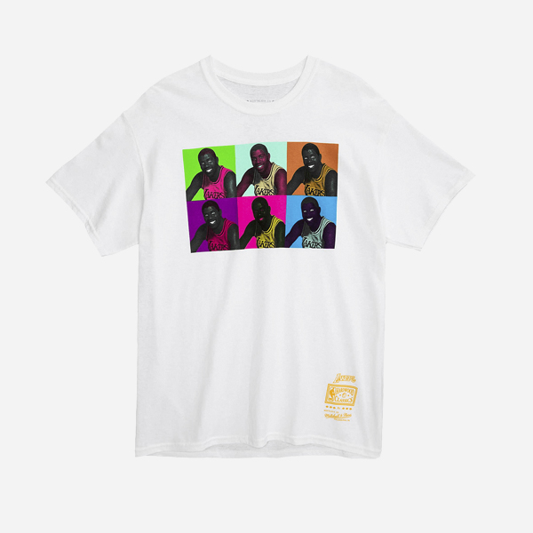 MITCHELL AND NESS NBA POP ART TEE LOS ANGELES LAKERS MAGIC JOHNSON