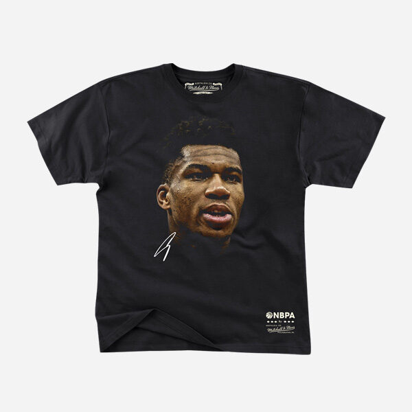 MITCHELL AND NESS NBA BIG FACE TEE PLAYERS GIANNIS ANTETOUKOUNMPO