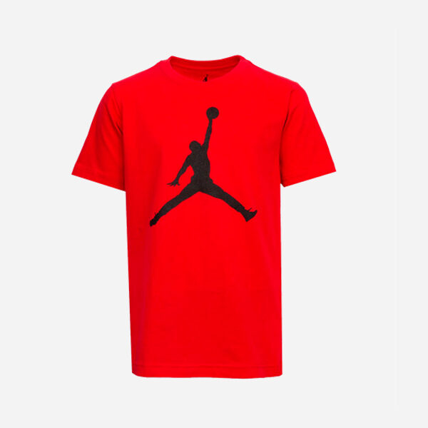 JORDAN KIDS SS JUMPMAN TEE RED