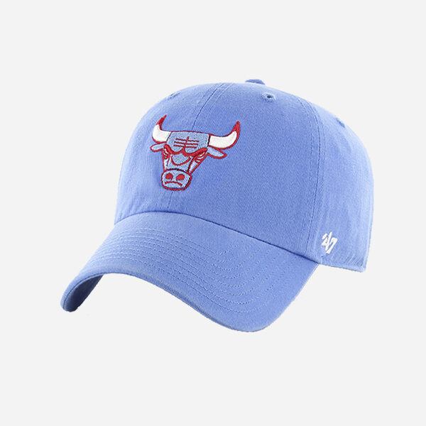 47 BRAND NBA CAP CHICAGO BULLS  JERSEY ALT CITY COLLECTION CLEAN UP STRAPBACK