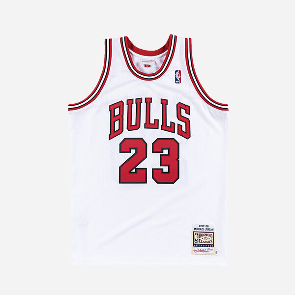 MITCHELL AND NESS NBA AUTHENTIC JERSEY CHICAGO BULLS 97 MICHAEL JORDAN