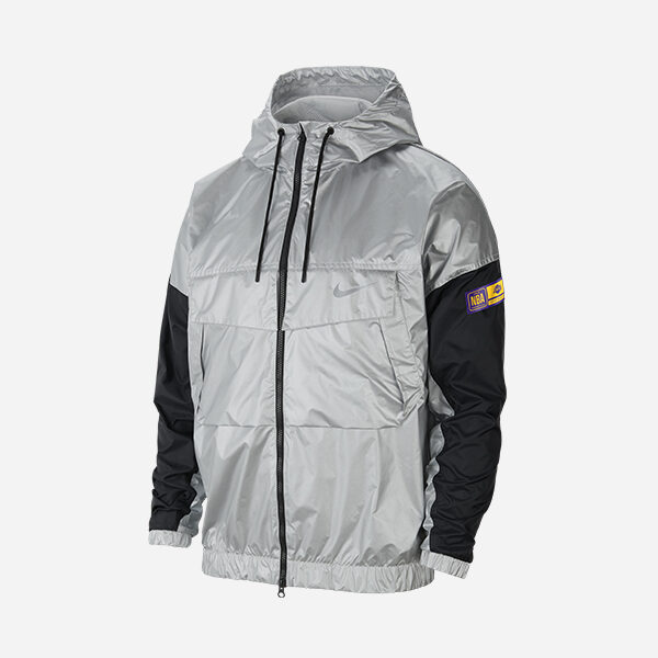 NIKE NBA LOS ANGELES LAKERS COURTISIDE LIGHTWEIGHT JACKET
