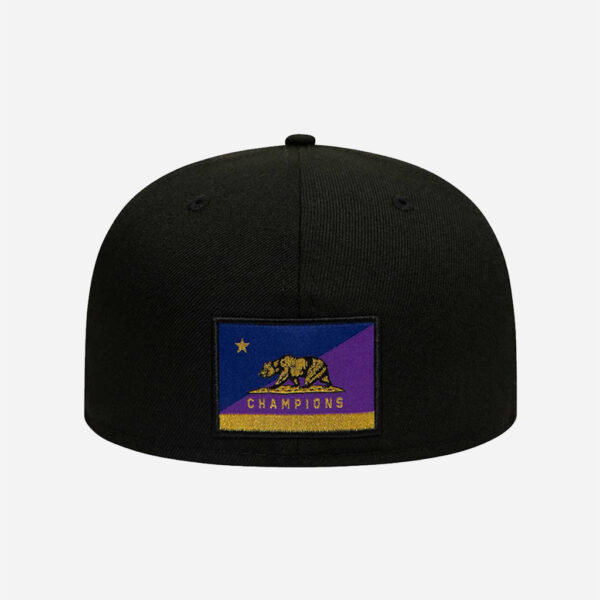 NEW ERA CAP NBA COCHAMPS LOS ANGELES LAKERS DODGERS 59FIFTY FITTED