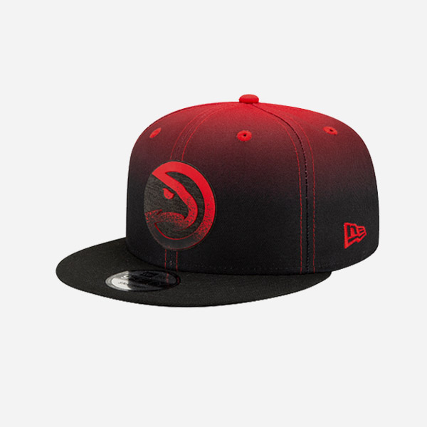NEW ERA CAP NBA BACK HALF 20 ATLANTA HAWKS 9FIFTY SNAPBACK