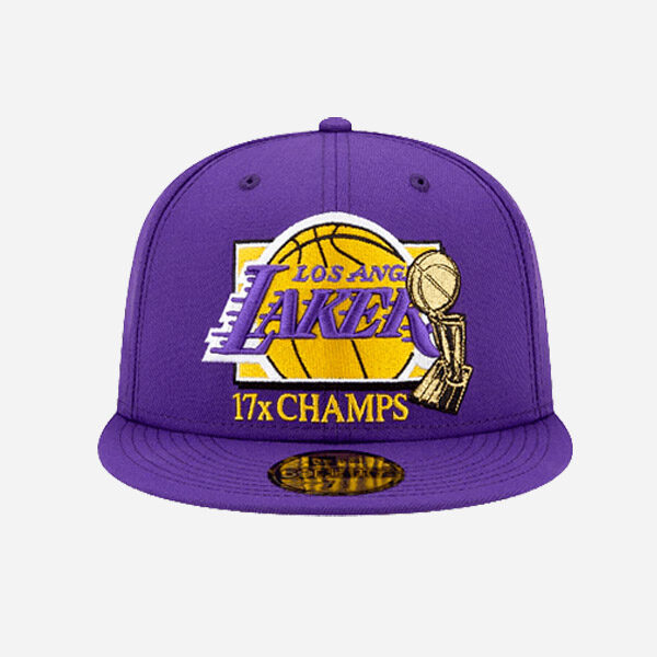 New Era Cap Nba 17X Champions Los Angeles Lakers 59Fifty Fitted