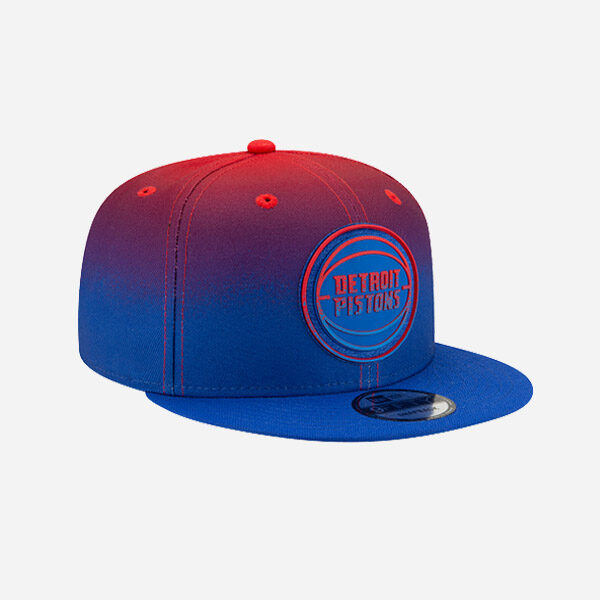 NEW ERA CAP NBA BACK HALF 20 DETROIT PISTONS 9FIFTY SNAPBACK