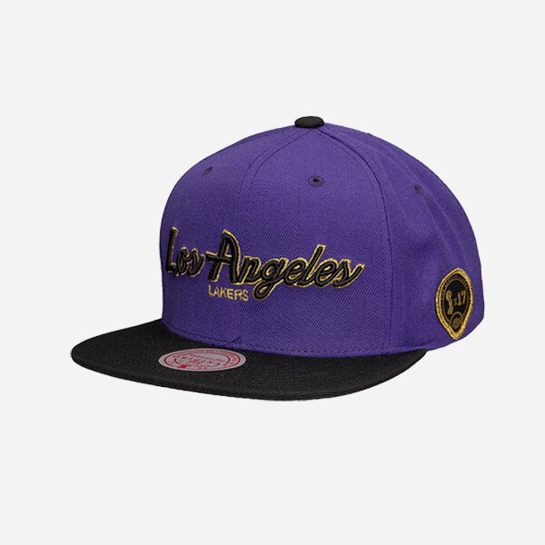 Mitchell And Ness Nba Cap City Champs B Los Angeles Lakers Snapback