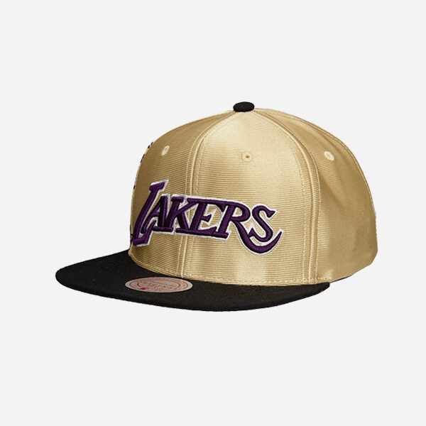 Mitchell And Ness Nba Cap Branded B Los Angeles Lakers Snapback