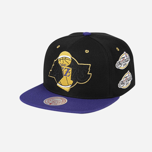 Mitchell And Ness Nba Cap Champ Trophy Los Angeles Lakers Snapback